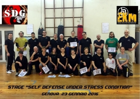 STAGE EKM A GENOVA - EVOLUTION KRAV MAGA