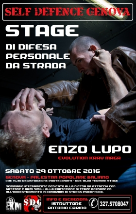 STAGE A GENOVA - EVOLUTION KRAV MAGA