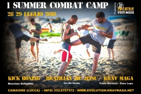 COMBAT CAMP A CAMAIORE! - EVOLUTION KRAV MAGA