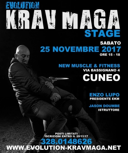 STAGE EKM A CUNEO - EVOLUTION KRAV MAGA
