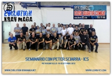 SEMINAR WITH PETER SCIARRA - ICS - EVOLUTION KRAV MAGA